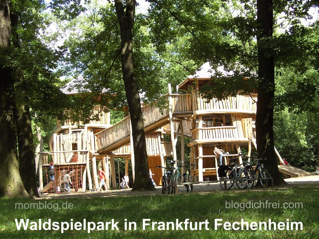 Waldspielpark in Frankfurt Fechenheim