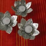 Kerzenständer für Teelichter selber basteln