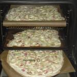 Flammkuchen: Rezept low carb