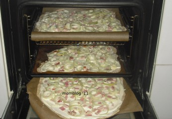 Post image for Flammkuchen: Rezept low carb