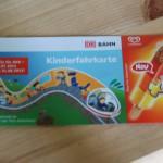 Kinderfahrkarte bei der Bahn: Eis kostenlos