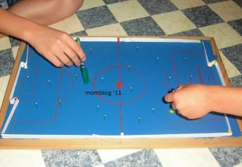 Tisch-Fußballspiel selber bauen