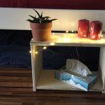 Nachttisch aus Holz selber bauen